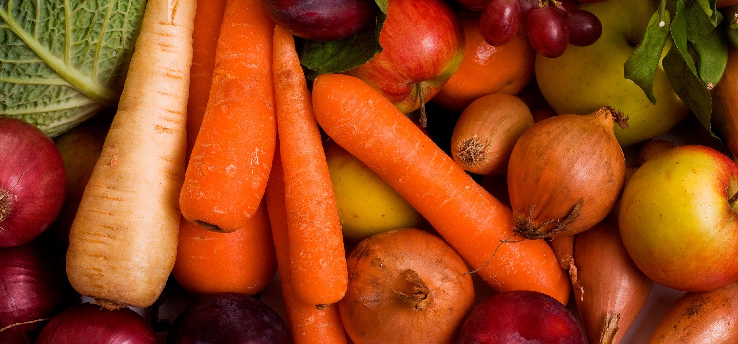 Hortalizas y verduras en todos los formatos