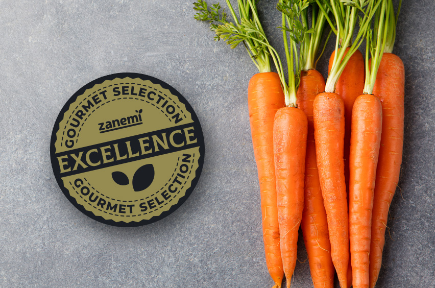 Producción y venta de zanahorias gourmet