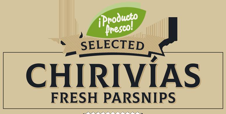 Chirivías frescas todos los días - Producción y venta de hortalizas y verduras