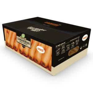 Caja de 10 kg de zanahorias Zanemi - Producción y venta de hortalizas y verduras