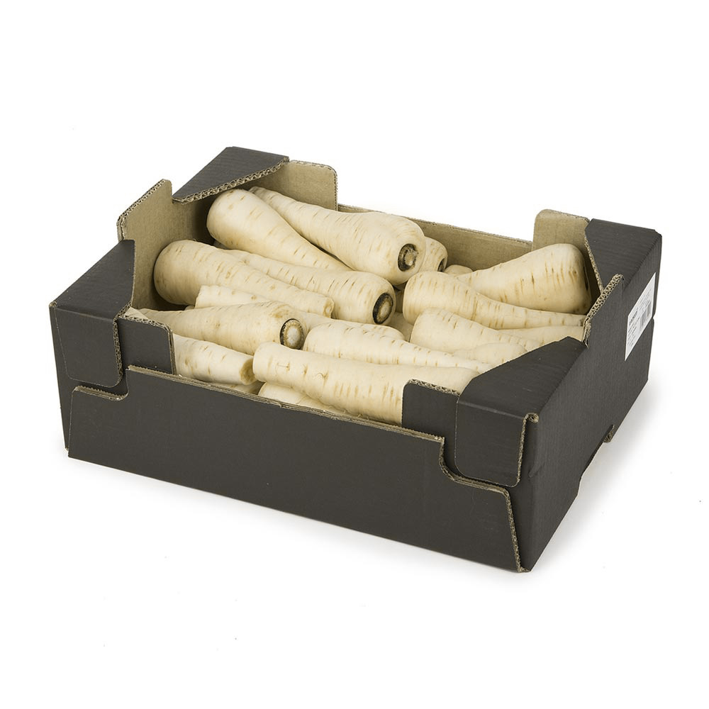 Caja de chirivías - Producción y venta de hortalizas y verduras