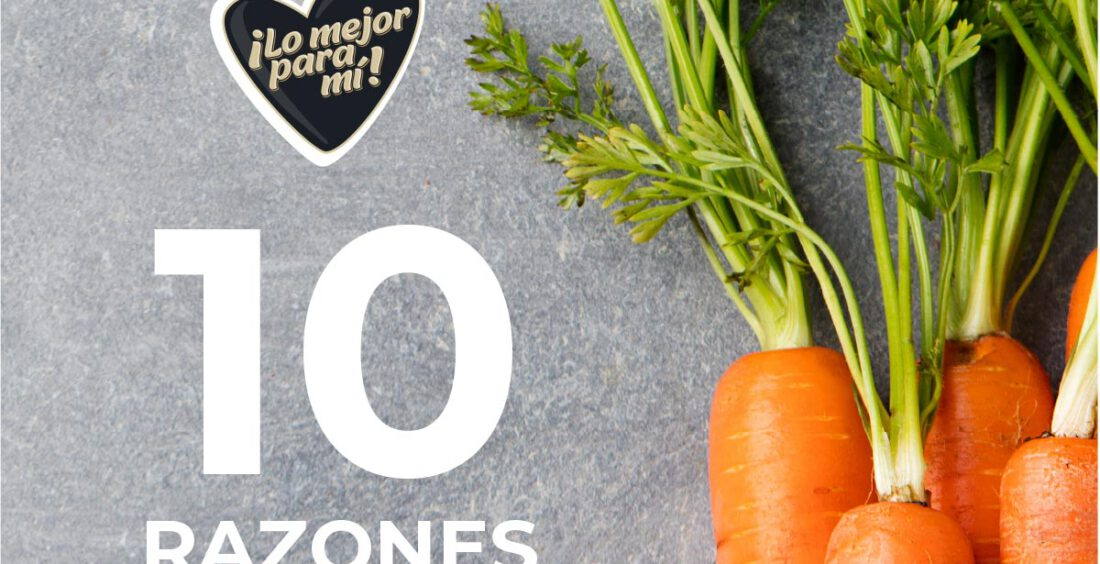 10 razones para comer zanahorias