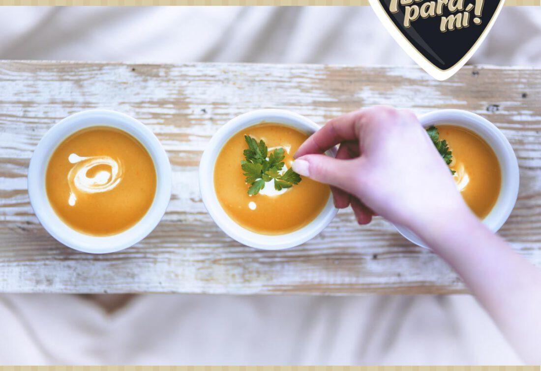 receta de crema de zanahoria
